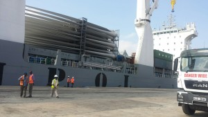 First Turbine Shipment for LTWP arrives in Mombasa Port