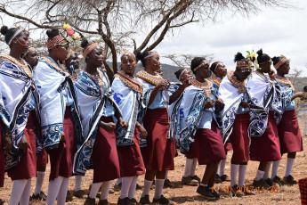 Handover ceremony at Nyiro Girls Sec. School