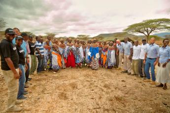 Laisamis Hospital solar project handover