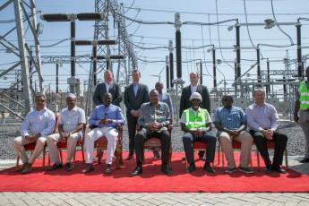 H.E. President Uhuru Kenyatta with the LTWP Board members