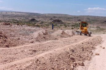 Road construction works 3