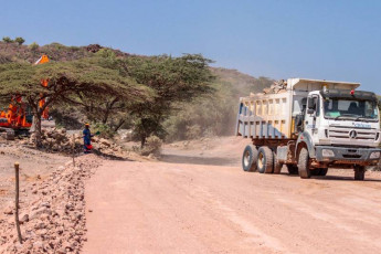 Road construction works 5