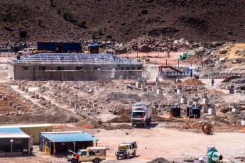 Construction of substation