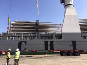 Mombasa Port - offloading of turbines 2